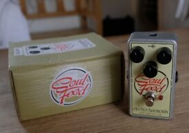 Electro- Harmonix Soul Food Guitar effects distortion pedal.