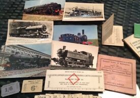 Steam Railway memorabilia
