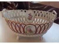 Dresden (German) Porcelain Bowl