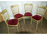 Four Dinning Table Chairs