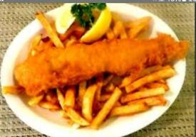 Fish and chip supper for your Wedding