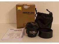 Nikkor 50mm f/1.8G AF-S Lens