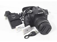 Fujifilm X-S1 superzoom (24-624mm) camera, with battery, spare battery, charger & lead. (FLEETWOOD)