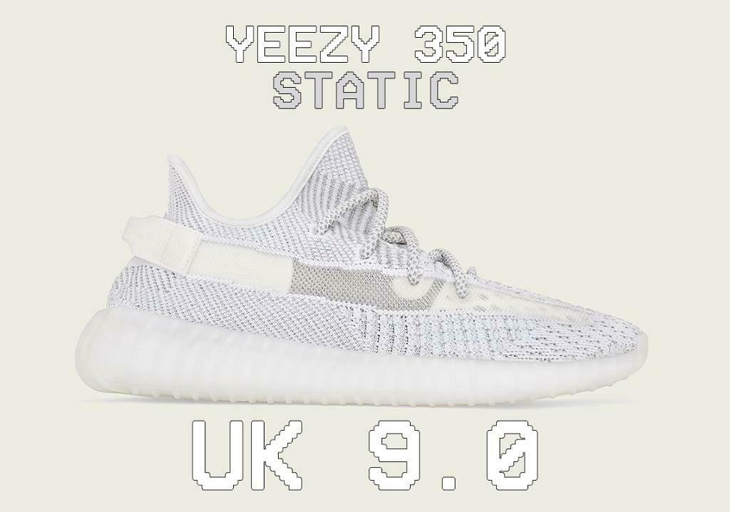 best service 1468d 0ab10 Adidas Yeezy 350 Static - 9UK - NEW! | in Cotgrave, Nottinghamshire |  Gumtree