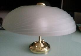 Lalique style pendant lights