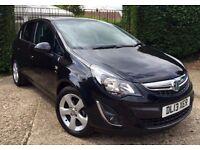 **2013** Vauxhall Corsa 1.2 Sxi AC 5dr MOT FSH Manual Cruise Low miles