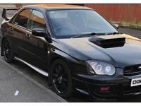 2003 Subaru Impreza STI UK type