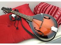 Stagg handmade M20 mandolin with strap as new