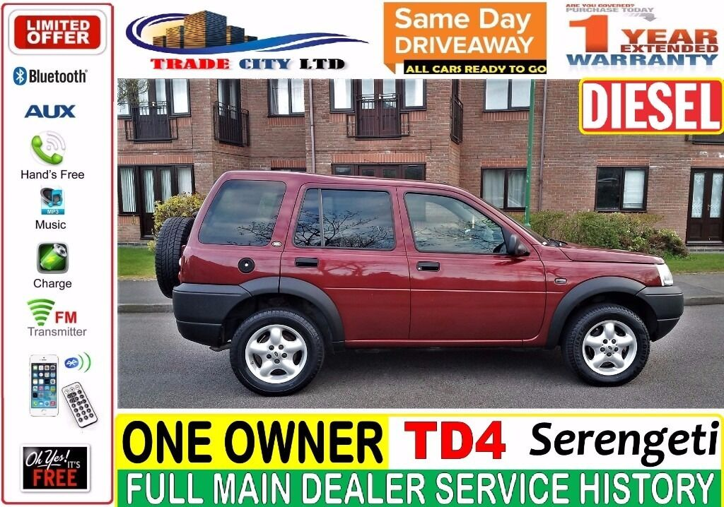 Land Rover Freelander 2.0 TD4 Serengeti 5 door, diesel, **MINT CONDITION** !DISCOVERY, RANGE ROVER