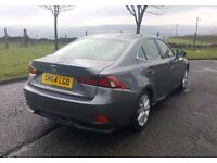 Lexus IS300h Luxury 2014 Grey, FSH, Low Miles, Cat D