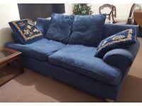 3 seater fabric sofa / House Clearance