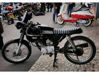 HONDA Custom 125cc flattracker