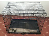 "XL dog cage crate in excellent condition 42"" x 29"" x 30"""