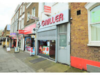 W3: Excellent A3 / A5 premises on the High Street - ground floor & basement. Low premium!