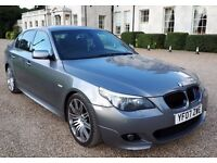 2007 BMW 530i M Sport 4dr Saloon AUTO F.S.H PX WELCOME (t-z awesome-cars)