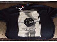 Saltrock t-shirt XL - black - fin and butt