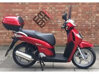 Honda SH 125cc, Excellent condition, ONLY 3785 Miles!