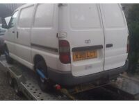 WANTED: Toyota Hiace vans (2.4d/d4d) diesel, any age&condition