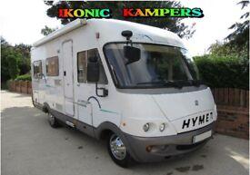 2001 Hymer B534 Fiat 2.8JTD