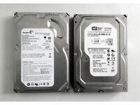 Desktop & Laptop Hard Disks - SATA or IDE (Seagate, Western Digital, Maxtor, Apple Mac, Computer)