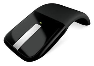 Microsoft Arc Touch Wireless Mouse with BlueTrack Technology, Black -  Model: RVF-00053