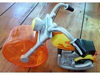 Hamster Chopper Bike Toy