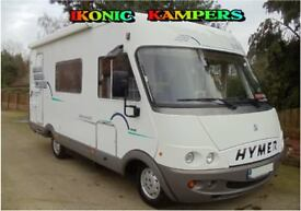 2002 Model Hymer B544 Fiat 2.8TD Registered 2001