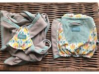 Caboo + cotton blend baby sling