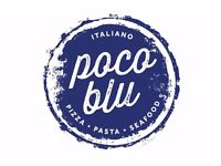 bureau bar & poco blu require a senior chef de partie , commis chef & p/t kitchen porter