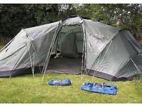 Outwell family xl dome tent