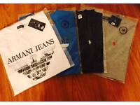 Armani Polo Lacoste t shirts and polo