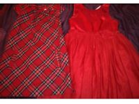 girls h&m dresses both worn twice age 6