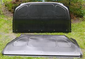 VW Transporter T5 / T6 Steel Bulkhead 2 piece