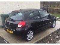 Black 3 dr Reanult Clio 1149cc. Great wee car
