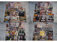44 KERRANG MUSIC MAGAZINES - HEAVY METAL, PUNK etc 1993 to 2005