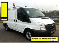Ford Transit 2.2 300, 1 Owne - Direct From BT , Full Service History, 1YR MOT , Warranty,101K Miles,
