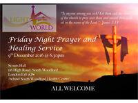 Friday Evening Prayer & Healing Service