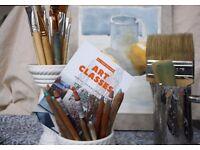 Art classes - painting/ drawing/ mixed media
