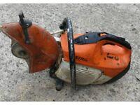 Stihl TS 410 petrol consaw