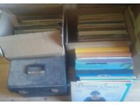 JOB LOT OF VINYL. ALBUM'S 12 INCH SINGLE. 7 INCH. WELL OVER 200 ITEMS.