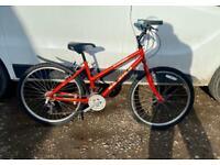 Ladies mountain bike 16'' frame 26'' wheels £55
