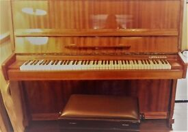 Ykpaiha (Ukraine) Upright Piano and Stool