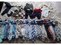 0-3 months boys next and gap clothes bundle