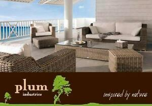 Wicker Outdoor Furniture Melbourne Lounge Sofa set 5 Pce setting Richmond Yarra Area Preview