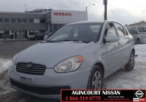 2009 Hyundai Accent 4Dr GL at |AS-IS SUPERSAVER|