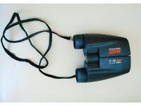 Praktica Sport 10 X 25 Binoculars In Matching Praktica Case