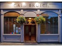 Chef De Partie Required For 3AA Rosette Cail Bruich