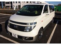 Nissan Elgrand - Luxury 6-Seat Executive VIP MPV / Pearl White