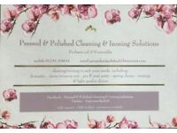 Professional cleaning and ironing services LS25 and surrounding areas