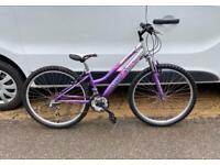 Small ladies/girls mountain bike bike 13'' frame 26'' wheels £60